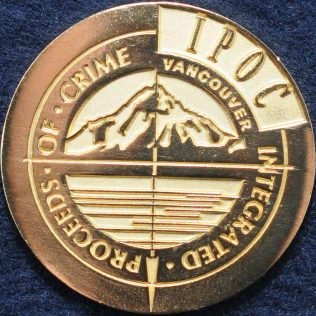 Integrated Proceeds of Crime (IPOC) Vancouver Gold