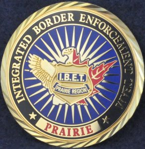 Integrated Border Enforcement Team (IBET) Prairie Region 2
