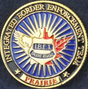 Integrated Border Enforcement Team (IBET) Prairie Region (Mini coin)