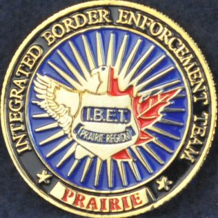 Integrated Border Enforcement Team (IBET) Prairie Region (Mini coin)