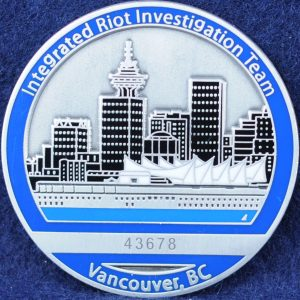 Integrated Riot Investigation Team, Vancouver 2
