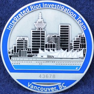 Integrated Riot Investigation Team, Vancouver, BC