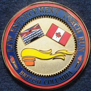 Law Enforcement Torch Run, British Columbia