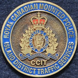 RCMP Island District Traffic Services Gold 2