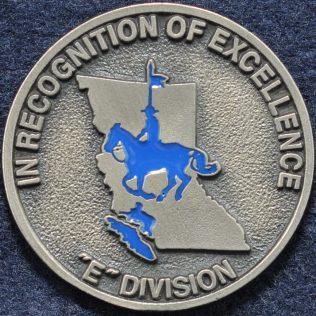 RCMP E Division Island District Traffic Services (Silver)
