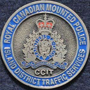 RCMP Island District Traffic Services Silver