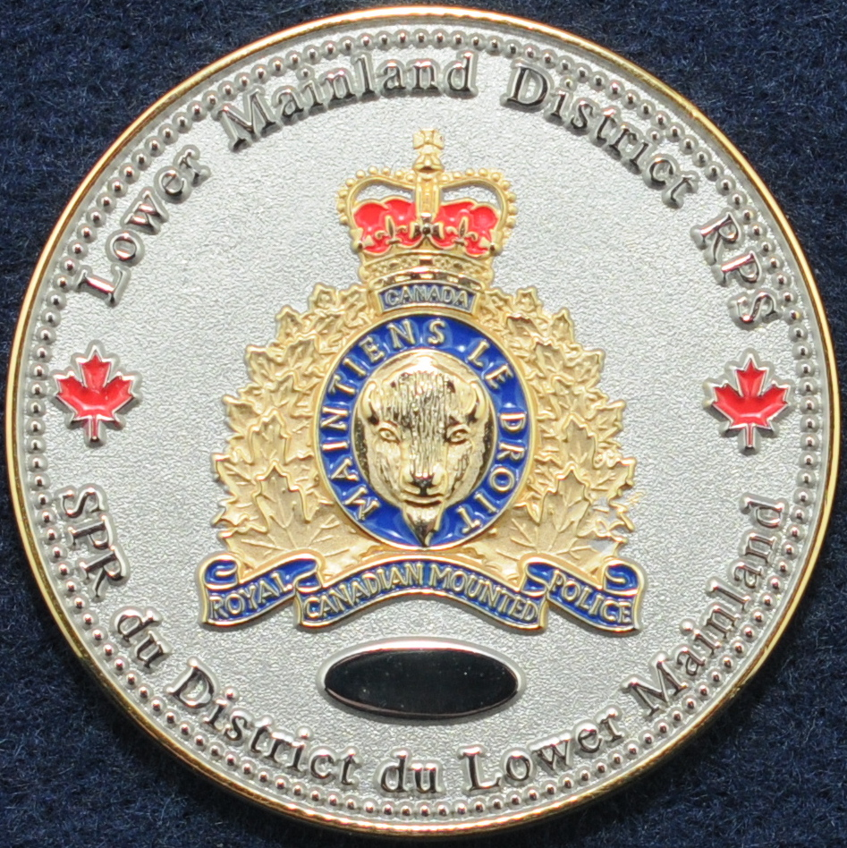 RCMP Lower Mainland District - Challengecoins.ca