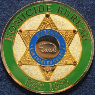 Los Angeles County Sheriff, Homicide Bureau, Cold Case Unit