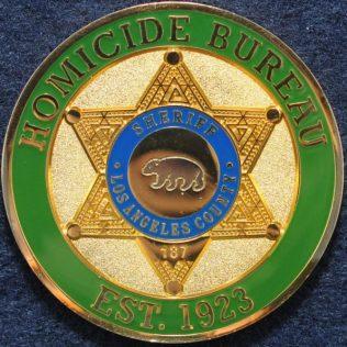 Los Angeles County Sheriff, Homicide Bureau, Cold Case Unit