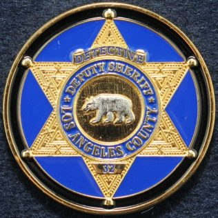 Los Angeles County, Deputy Sheriff