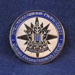 Canada Border Services Agency (CBSA) Intelligence Division - Pacific Region (blue)