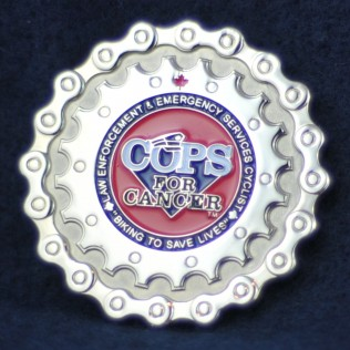 Cops for Cancer Tour de Coast 2011