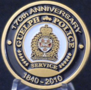 Guelph Police Services 170th Anniversary 1840-2010