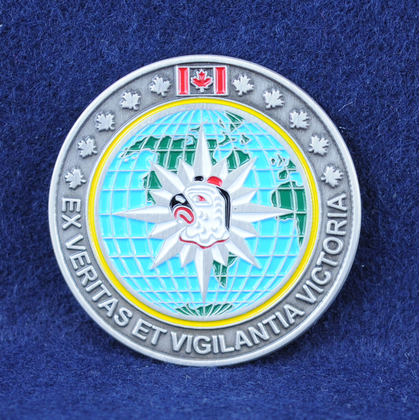 National Counter Intelligence Unit Canadian Forces Challengecoins