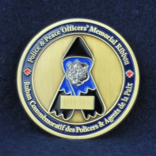Police & Peace Officer's Memorial Ribbon