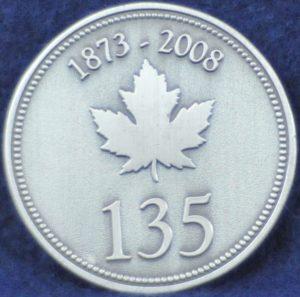RCMP 135 years 1873-2008