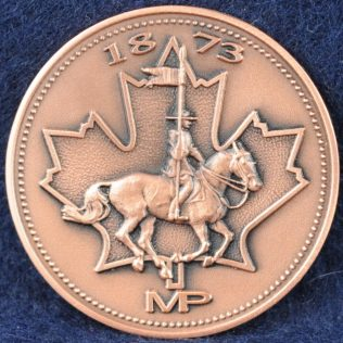 RCMP 1873 MP bronze