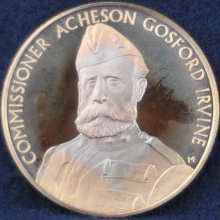 RCMP Commissioner Acheson Gosford Irvine