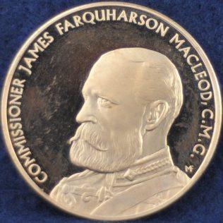 RCMP Commissioner James Farquharson Macleod, C.M.G