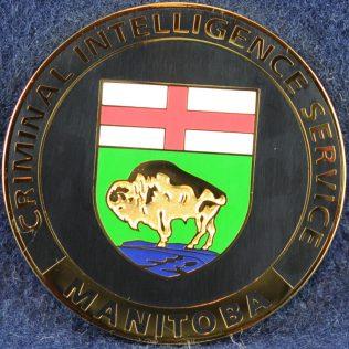 RCMP D Division Criminal Intelligence Service Manitoba