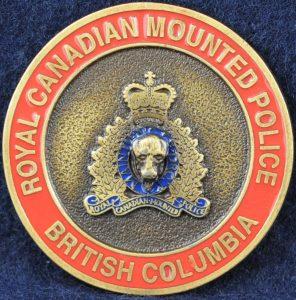 RCMP Criminal Operations Federal Policing - British Columbia 2