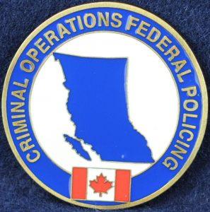 RCMP Criminal Operations Federal Policing - British Columbia
