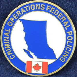 RCMP E Division Criminal Operations Federal Policing