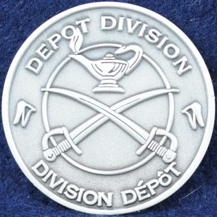 RCMP Depot Division (pewter)