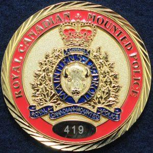 RCMP Deputy Commissioner E Division