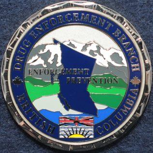 RCMP E Division Drug Enforcement Branch British Columbia