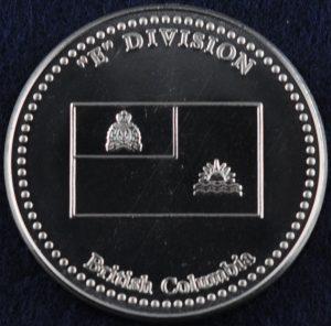 RCMP E Division silver 2