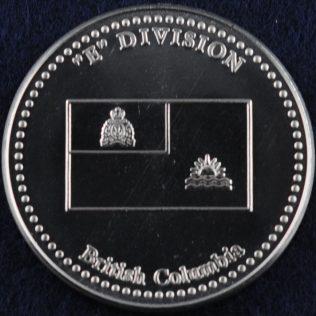RCMP E Division British Columbia (Silver)