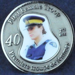 RCMP First Female Troop 40 years