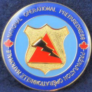 RCMP National Operational Preparedness