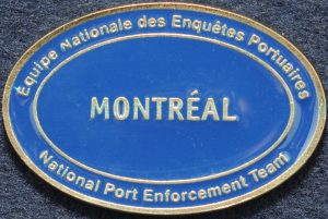 RCMP National Port Enforcement Team Montreal