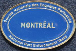 RCMP National Port Enforcement Team Montreal