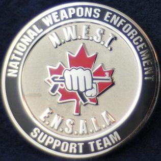 RCMP D Division National Weapons Enforcement Support Team Manitoba