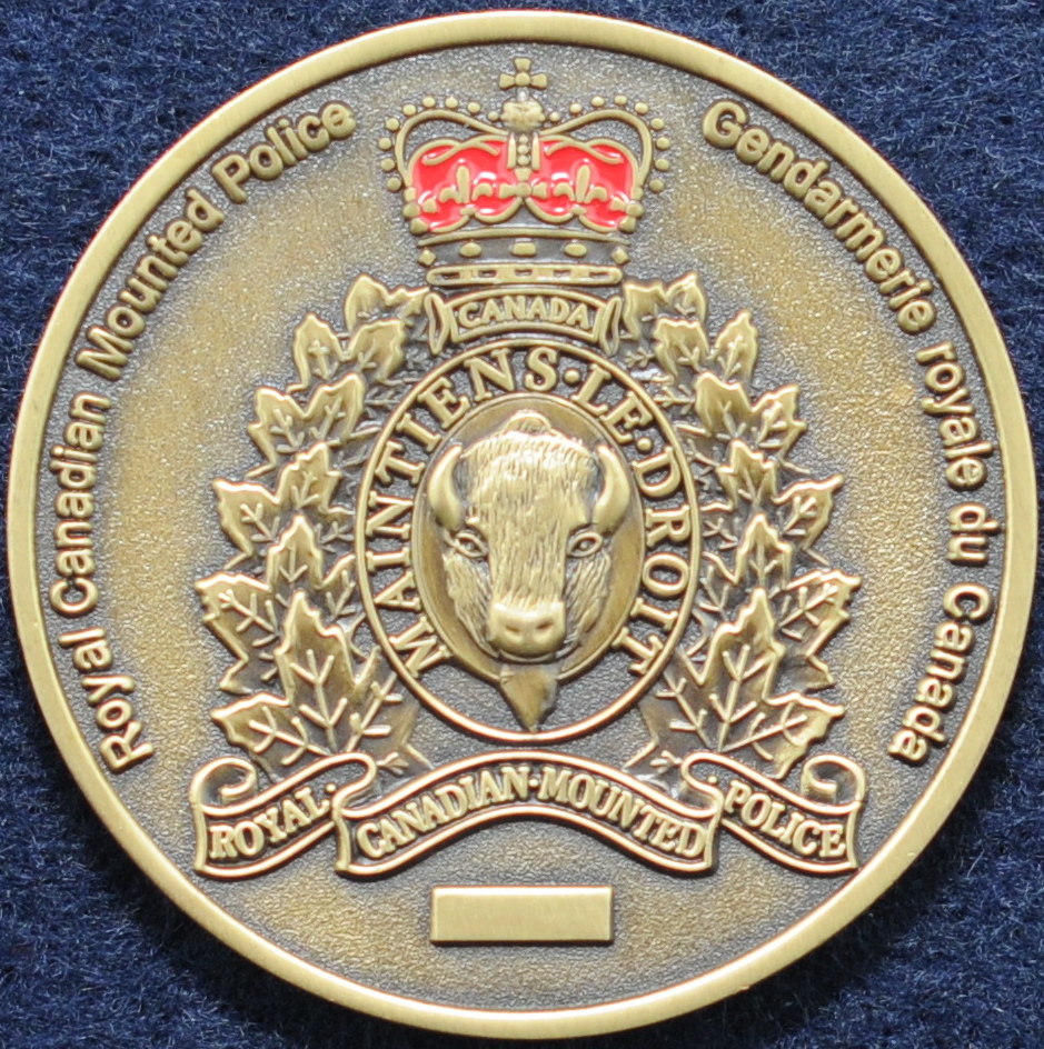 RCMP Police Dog Services - Challengecoins.ca