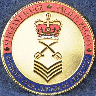 RCMP Sergeant Major - Pacific Region