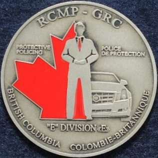 RCMP E Division Protective Policing (VIP)