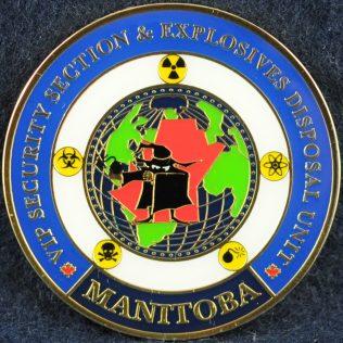RCMP D Division VIP Security Section & Explosives Disposal Unit