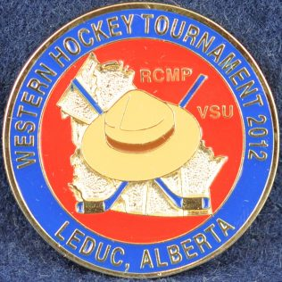 RCMP Western Hockey Tournament 2012 Leduc Alberta