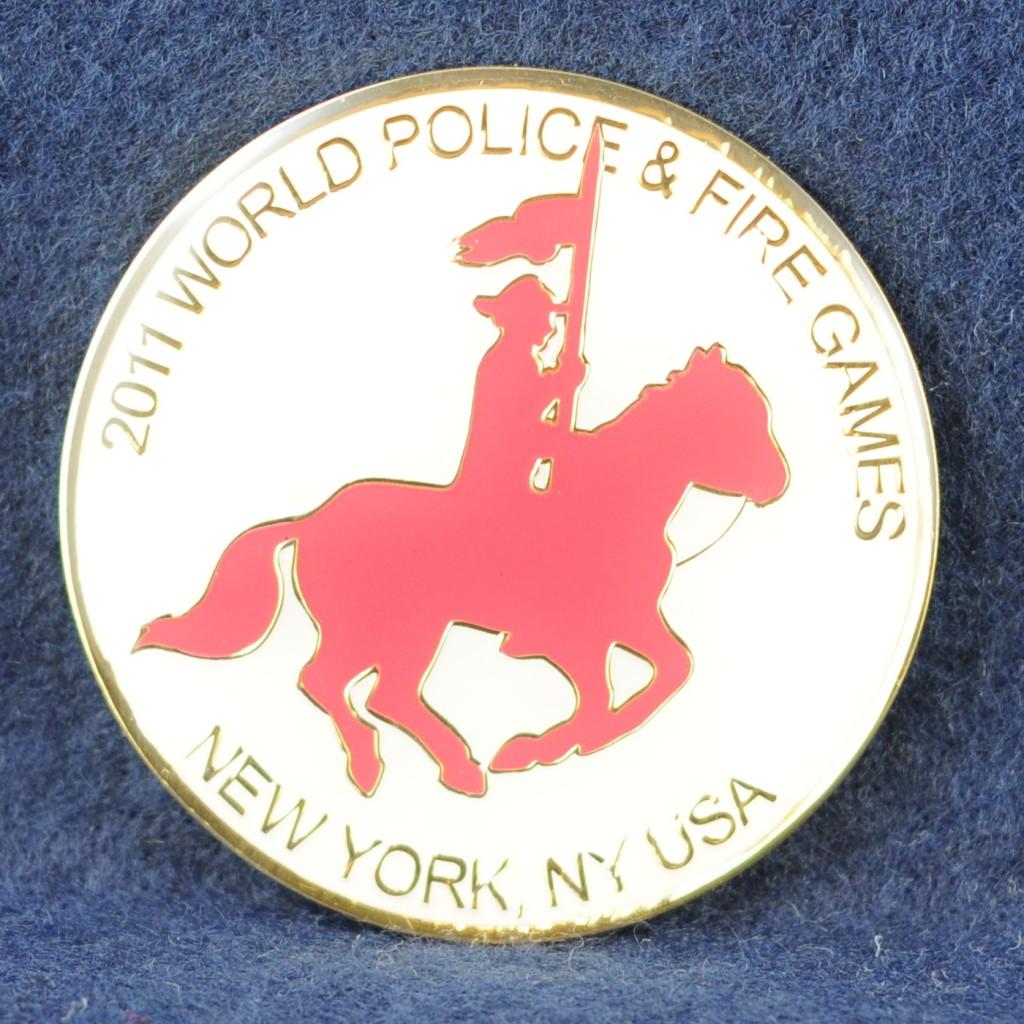RCMP World Police & Fire games 2011 New York USA