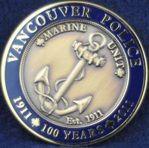 Vancouver Police Department - Marine Unit 100 years