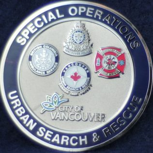 Vancouver - Special Operations Urban Search & Rescue