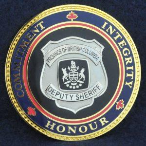 British Columbia Deputy Sheriff