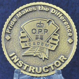 Ontario Provincial Police Academy.