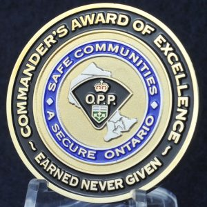 Ontario Provincial Police Commander's Award of Excellence 2