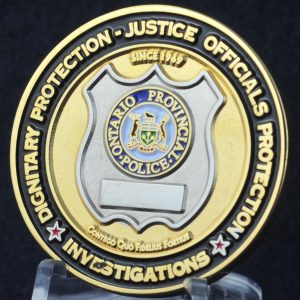 Ontario Provincial Police Dignitary and Justice Official Protection 2