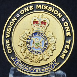 Ontario Provincial Police Dignitary and Justice Official Protection